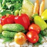 Польза овощей для организма
